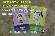 Animal Crossing New Horizons NFC Amiibo Cards Choose Any Villager Free Shipping