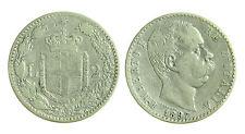 pcc1276_6) Regno Umberto I (1878-1900) Lire 2 Stemma  1897