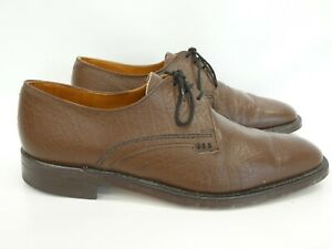 Loake Brown Shoes 11 Mens 'Aintree' Derby Formal UK 11 very good used condition