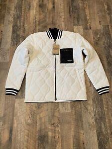 Burton Snowboards Mallet Jacket Men's Sz L Stout White Insulated NWT $150