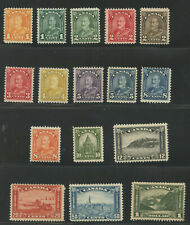 Canada 1930 KGV Arch/Leaf issue complete set #162-177 mhr