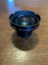 Minolta 0.5X Wide Angle VLW-501 Lens AUX converter 🔥 Free Shipping 🔥