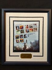 RARE Celebrate the Century Collection 1980s FRAMED USPS Stamps MINT, ASC 1999