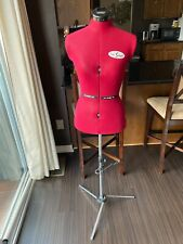 Sew Simple Adjustable Sewing Mannequin Half Body Torso Dress Form With Stand