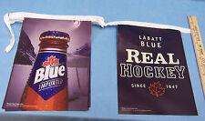 Labatt Blue Beer Hockey Hanging Bar Banner Sign Repeating Design