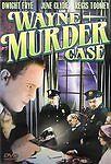 Wayne Murder Case (DVD, 2004) Dwight Frye, June Clyde  ***Brand NEW!!***