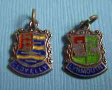 England sterling charms Vintage Clovelly Lynmouth Devon