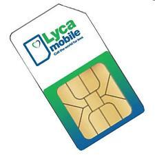 Carte Sim Lycamobile avec Nouveau numéro - Lyca Mobile Prepaid Sim Card