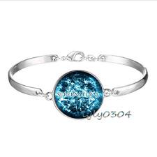 Wholesale Tibet silver Glass Cabochon bracelet Supernatural Logo photo