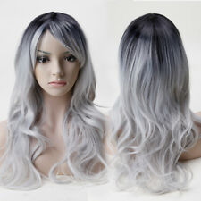 Womens Hair Wig Long Wave Straight Curly Full Wigs Heat Resistance Fiber Wigs US