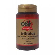 Tribulus 500 mg  90 cápsulas ( 90 % saponina) OBIRE Afrodisiaco