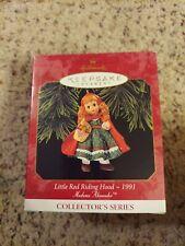 Hallmark Little Red Riding Hood Madame Alexander #2 Ornament Original Box Nos