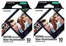 20X Photos Star-illumination FujiFilm Instax SQUARE Film For Polaroid Camera SQ6