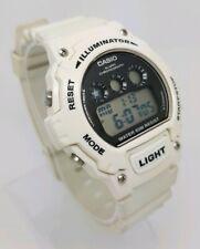 Casio Unisex Digital Chrono Alarm White Resin Strap Watch W-214HC-7AVEF A12