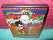 dragonball z - dragon ball z - las peliculas - devolvedme a mi gohan - dvd