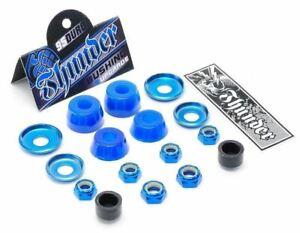 Thunder Bushings Rebuild Kit Medium 95A BLUE Cushions Skateboard Trucks Rubbers