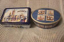 2 Biscuit Sweet Tins Breizh Bretagne and Pleyben