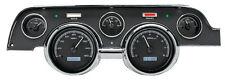 Dakota Digital 67 68 Ford Mustang Analog Gauge Kit Black White VHX-67F-MUS-K-W