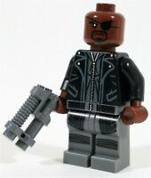 LEGO AVENGERS HELICARRIER NICK FURY MINIFIGURE FIGURE 76042 - MARVEL SUPERHEROES