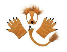 Lion Set Mask Tail Paws Lion King Simba Wild Big Cat Jungle Safari Fancy Dress