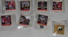 2013 SF 49ers 7 PIN SET Gore Kaepernick Davis Candlestick Farewell Chronicle