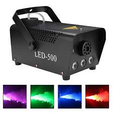 Nebelmaschine 500W DJ LED RGB Dunst-Effekt Fogger Disco Lichteffekt