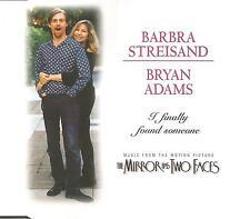 BARBRA STREISAND & BRYAN ADAMS I finally Found 4TRX Jewel Box CD single USA Selr