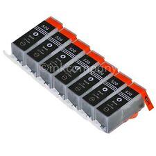 7 CANON Druckerpatronen mit Chip PGI-520 bk black IP 3600 IP 4600 IP 4700 NEU