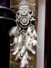 Large Simply Beautiful Buddhas Dream Catcher. Unique From The Designer Sius.