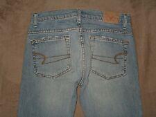 American Eagle Size 0 Petite Stretch Fit Boot Cut Light Blue Denim Womens Jeans