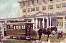 """PALM BEACH, FL MULE CAR LINE AT """"THE BREAKERS"""" 1910 NARRATIVE"""