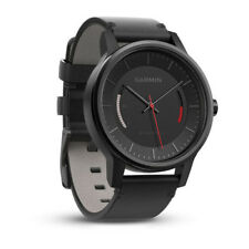 Garmin vívomove Watch Activity Tracker - Classic  Leather With Black