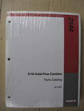 Case-IH 2144 combine original parts catalog #8-9961