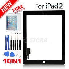 Touch Screen Glass Digitizer replacement for iPad 2 A1395 A1396 A1397 Black