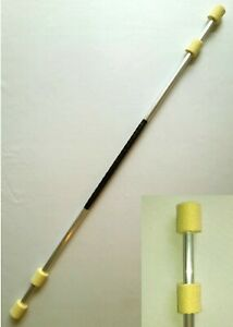 Fire Twirling Staff - Double 50mm wick / 140cm length
