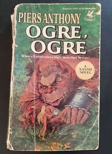 Piers Anthony Paperback Xanth Novel Ogre, Ogre 1984