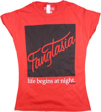 Ikon Collectables--True Blood - Fangtasia Red Female T-Shirt XL