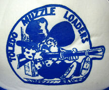 TOLEDO MUZZLE LOADERS foam trucker cap hillbilly OHIO Pappy black powder shooter