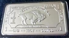1 Unze Barren - American Buffalo - Silberauflage  - Neu