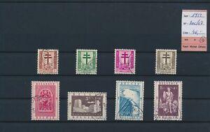LO17368 Belgium 1952 East Cantons anti-tuberculosis lot used cv 46 EUR