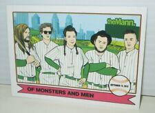 Of Monsters And Men 2015 Tour Mann Music Center Philadelphia Trading Card