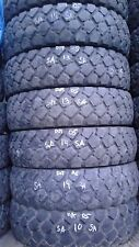 Set of six 9.00R16 Michelin XZL Mud tires, Off Road, 60-70% treads