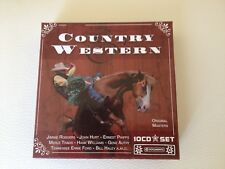 COFFRET 10 CD COMPIL 200 TITRES--COUNTRY & WESTERN-RODGERS/HURT/PHIPPS/TRAVIS