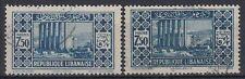 Liban Lebanon 1930 Mi.180 I+II fine used, 2 types Jupitertempel Baalbek [sq7774]