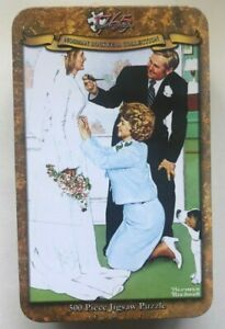 Norman Rockwell Collection - 1765 Jigsaw - Bride To Be 500 Piece Puzzle NEW