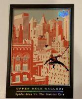 SDCC 2019 Upper Deck Gallery: Spider-man Card - Marvel Masterpiece 2019 SDCC