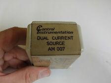 Control Instrumentation dual current source am 007 24v 11 Pin, in Gunnedah 2380