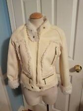 bebe faux fur jacket s
