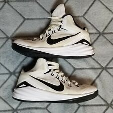 newest collection 76777 544ff B29 Nike Hyperdunk White and Black High Top Basketball Shoes Size 9.5  653484-100