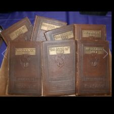 ROBERT COLLIER's THE BOOK OF LIFE Full Set 1925 Autograph Edition 7-vol Set **